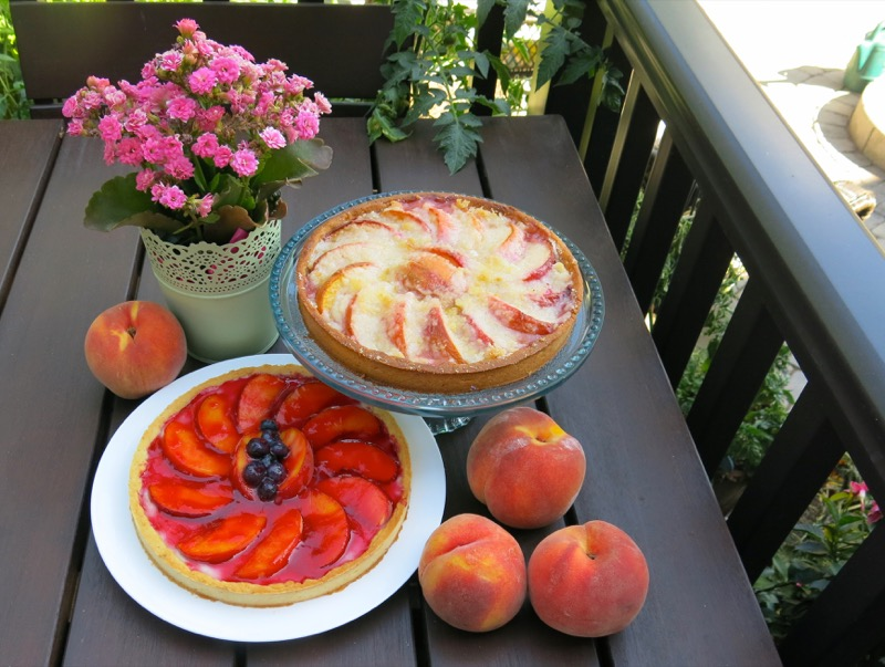 3b Simple Summer Peach Tart