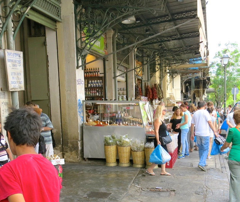 53 Outside Athens Central Market
