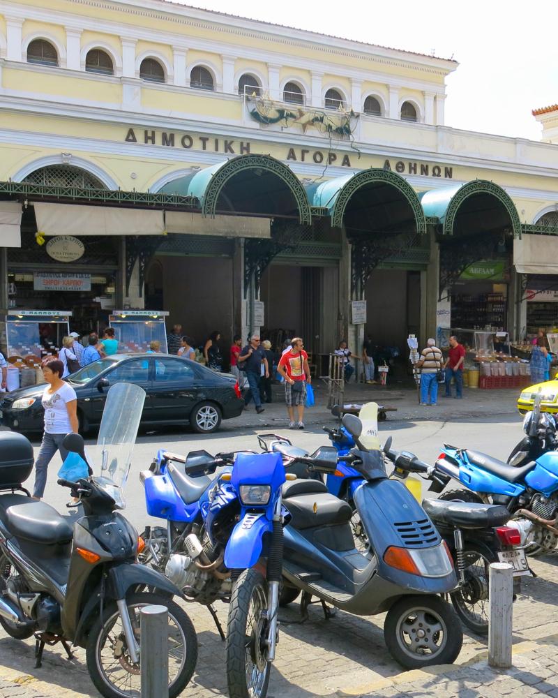 57 Facade Athens Central Market
