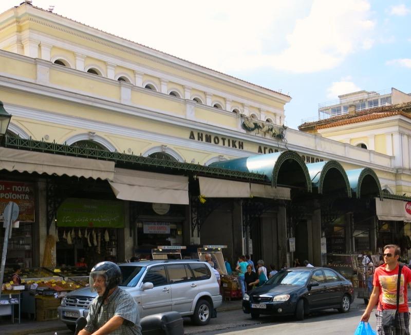 58 Facade Athens Central Market