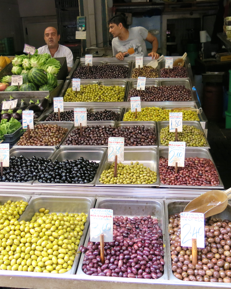 63 Athens Fruit and Vegetable Market Olives