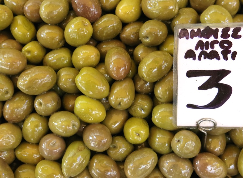 64 Athens Fruit and Vegetable Market Olives