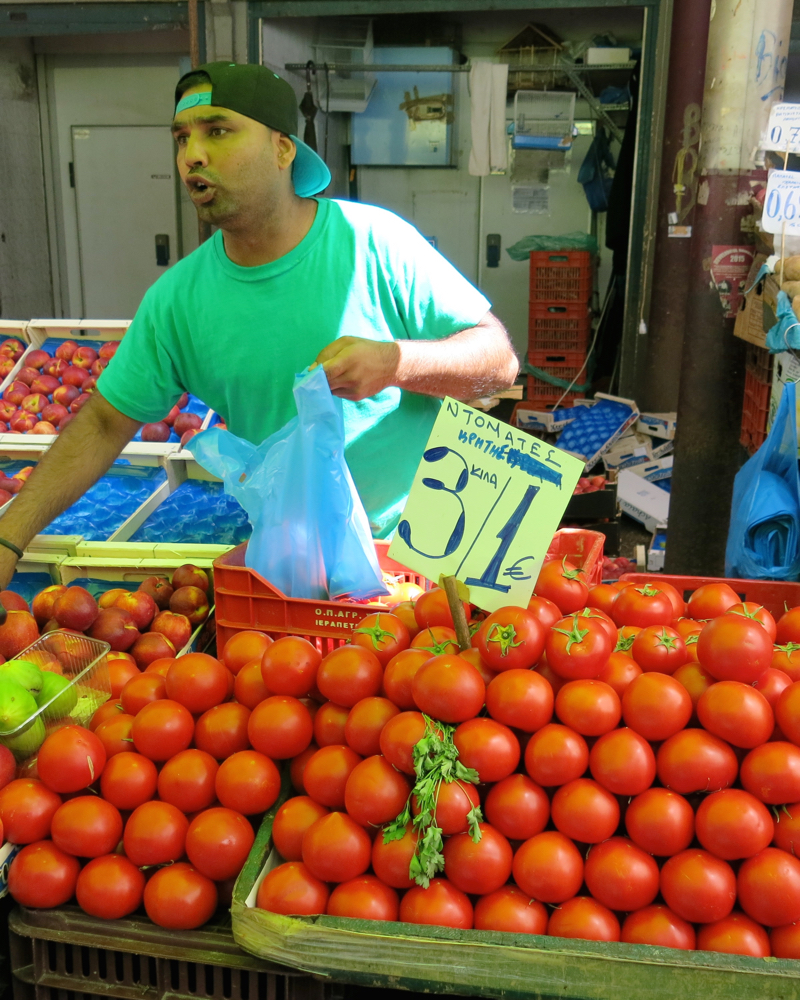 69 Athens Fruit and Vegetable Market Tomatoes