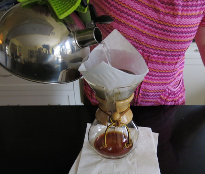 6a Chemex and Lavazza