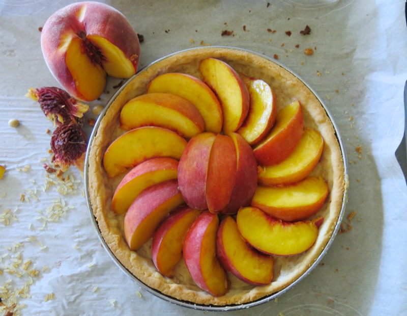 7 Summer Peach Tart Thermomix