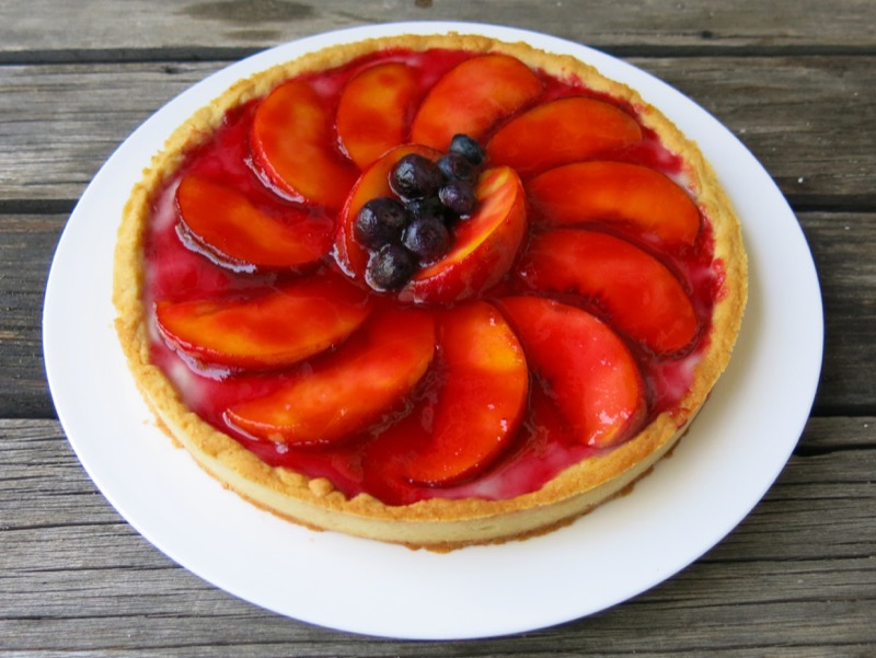 8 Fresh Peach Tart
