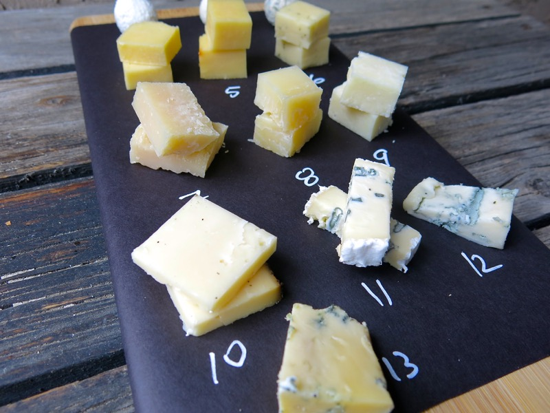 1 Cheese Tasting Cheese Board