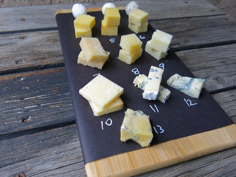 13 Cheese Tasting Board