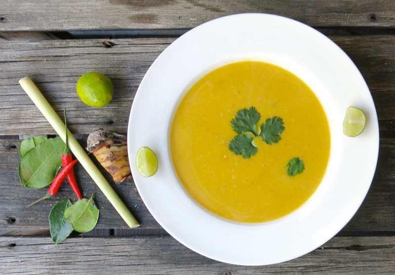 2 Thermomix Thai Butternut Soup