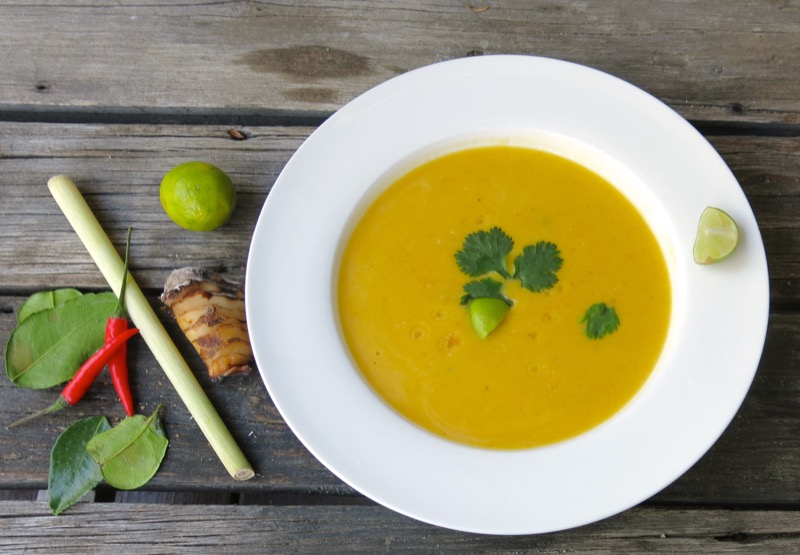 26 Thermomix Thai Butternut Squash Soup