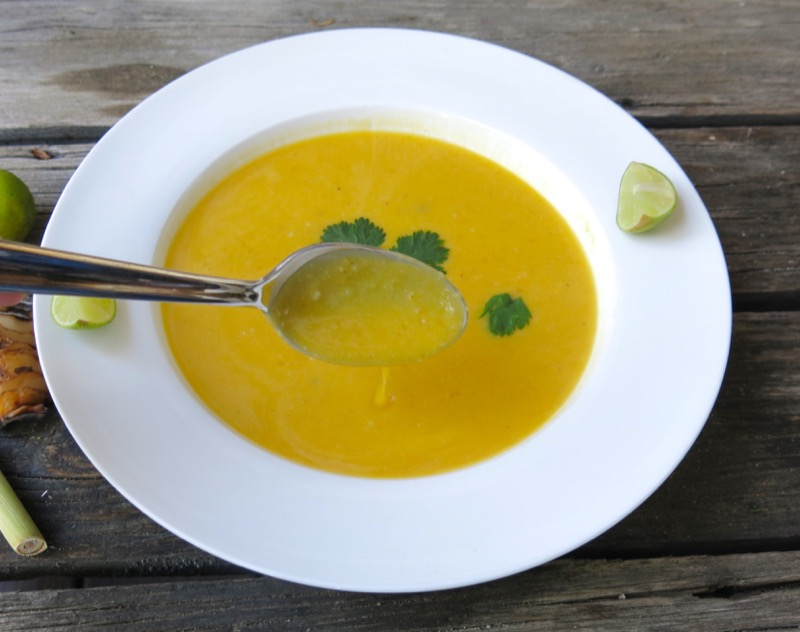4 Thermomix Thai Butternut Squash Soup