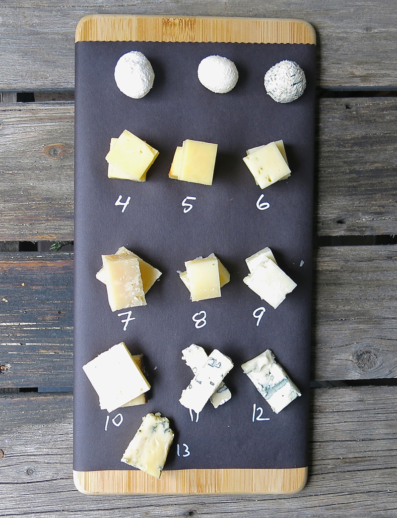 4c Cheese Tasting Cheese Board