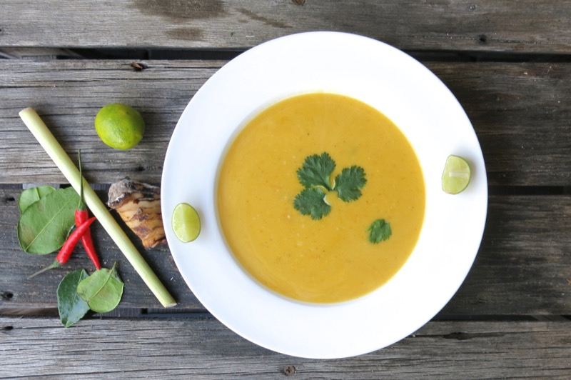 5 Thermomix Thai Butternut Squash Soup
