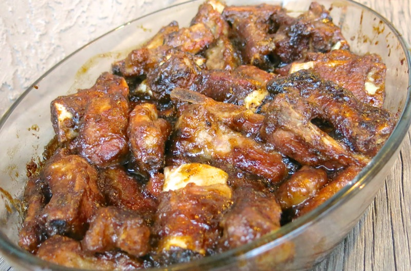 14 Canadian Sweet and Sour Ribs