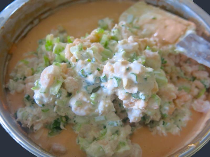 13 Tomato Soup Shimp Dip