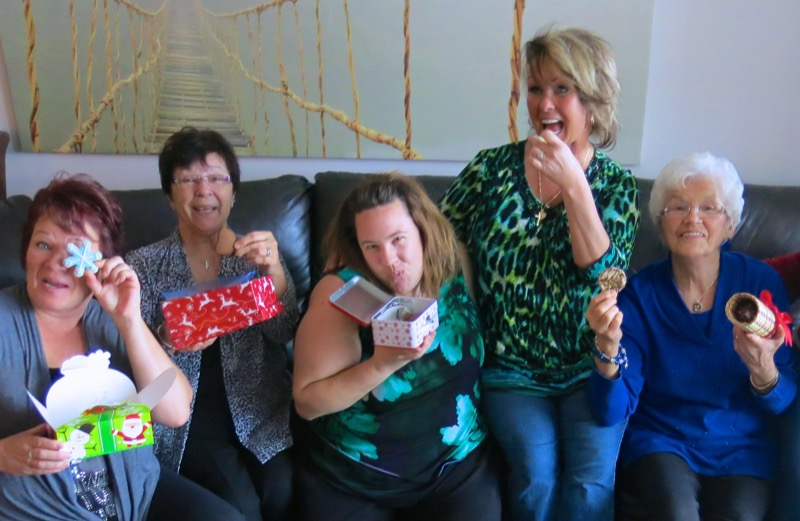 3 Ragan's Cookie Exchange 2015