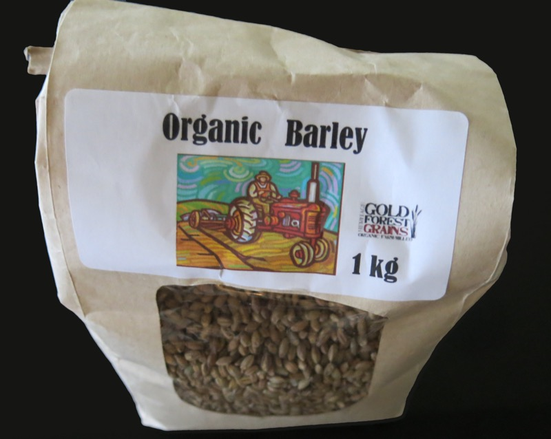 Hulled Organic Barley