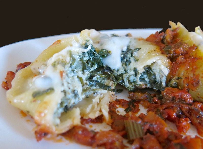 18 Giant Stuffed Spinach and Ricotta Pasta Shell