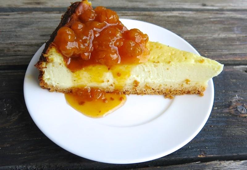 Homemade Quark Cake or Käsekuchen Mit Quark