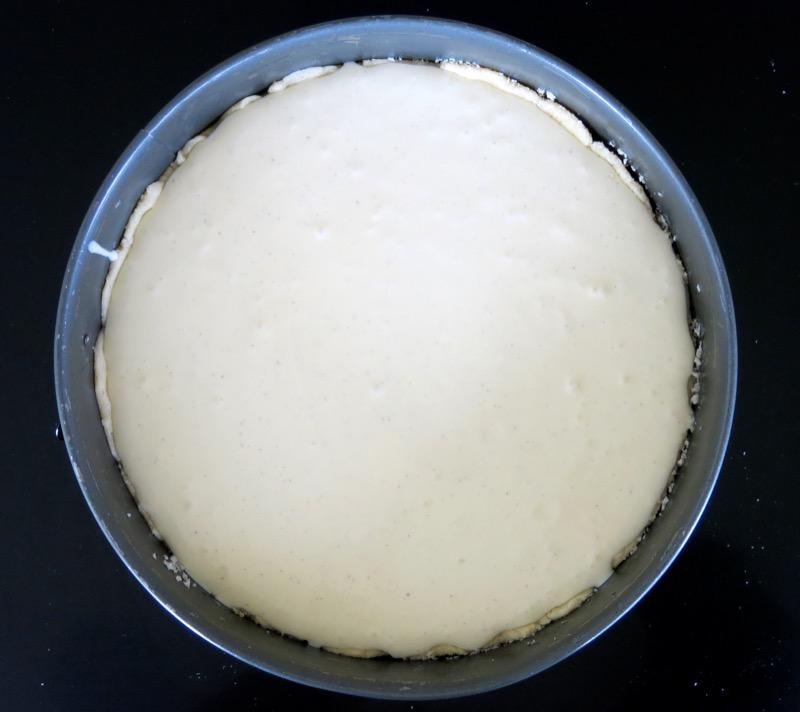 10 Quark Cake or Käsekuchen Mit Quark Unbaked