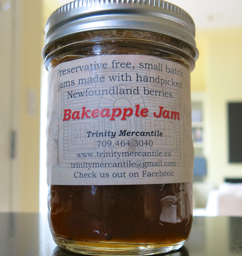9a Cloudberry or Bakeapple Jam
