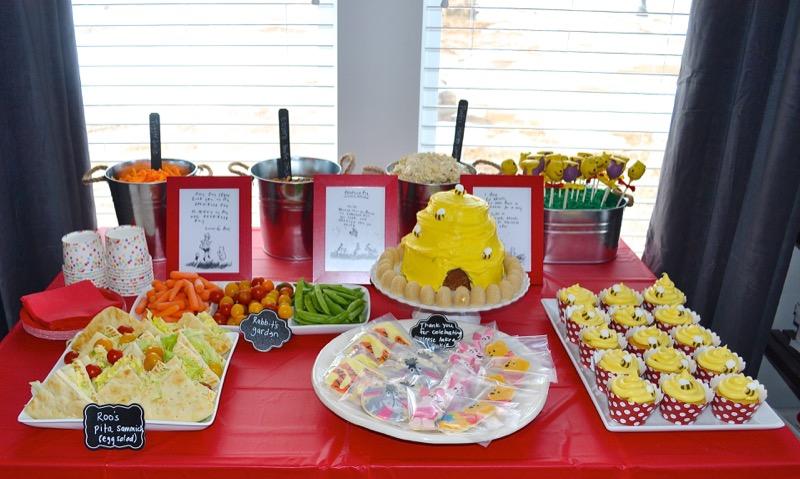 9 Williams First Birthday Food
