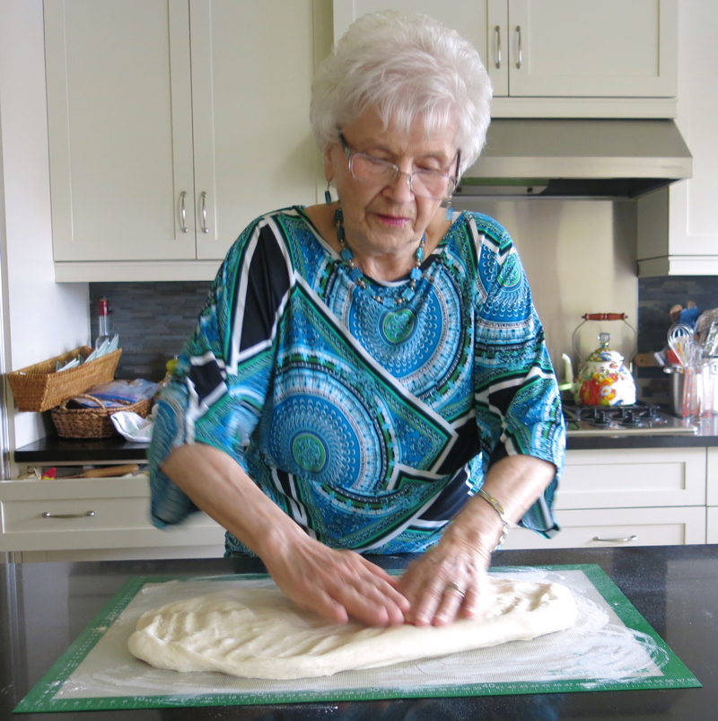 39 Helen McKinney Preparing Dough