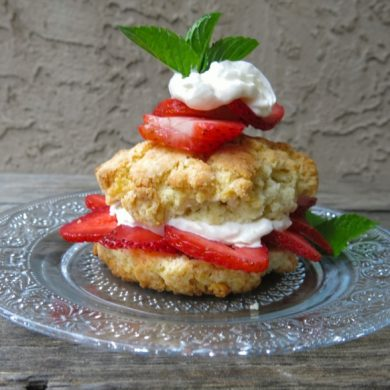 1 Canadian Strawberry Shortcake