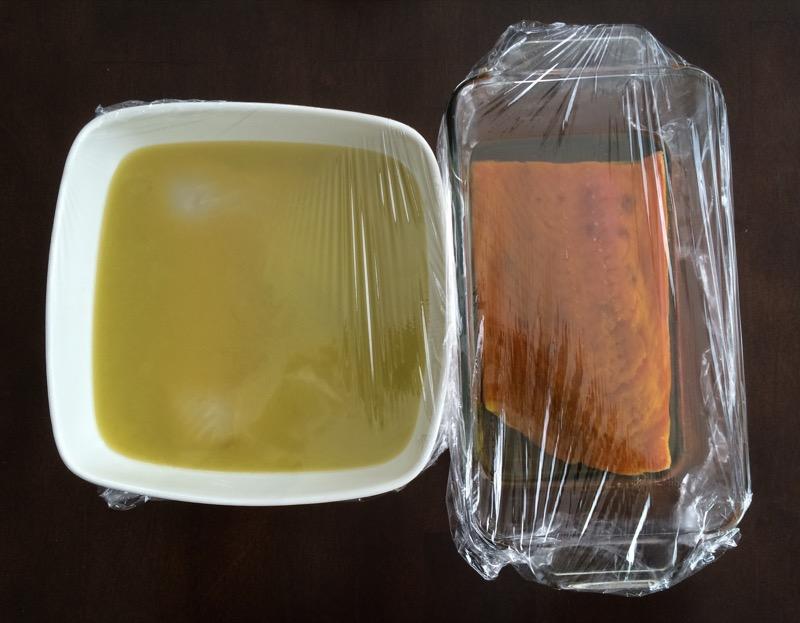 16 Salmon Halibut Gravlox