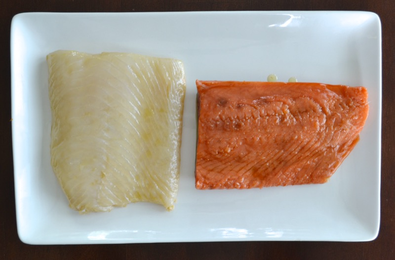17 Salmon Halibut Gravlox