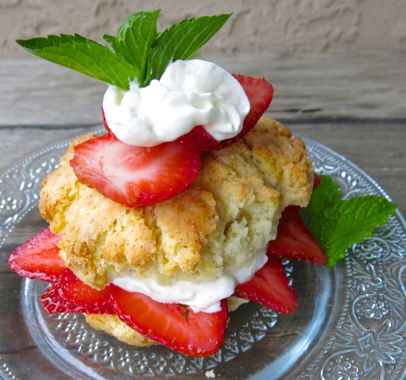 2 Canadian Strawberry Shortcake