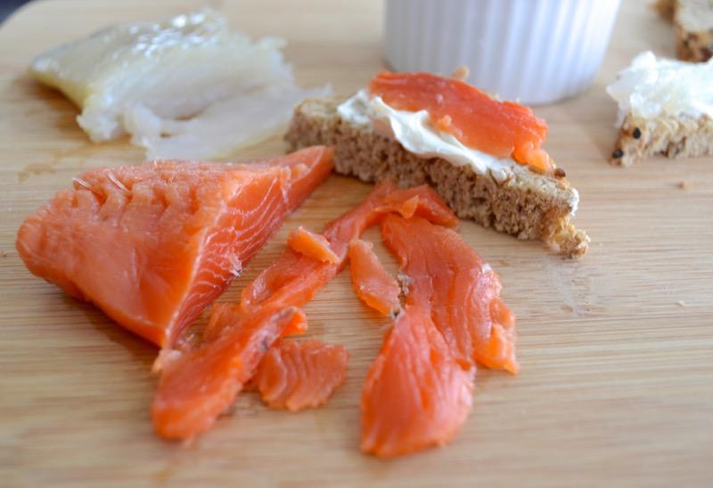 2 Salmon Gravlox