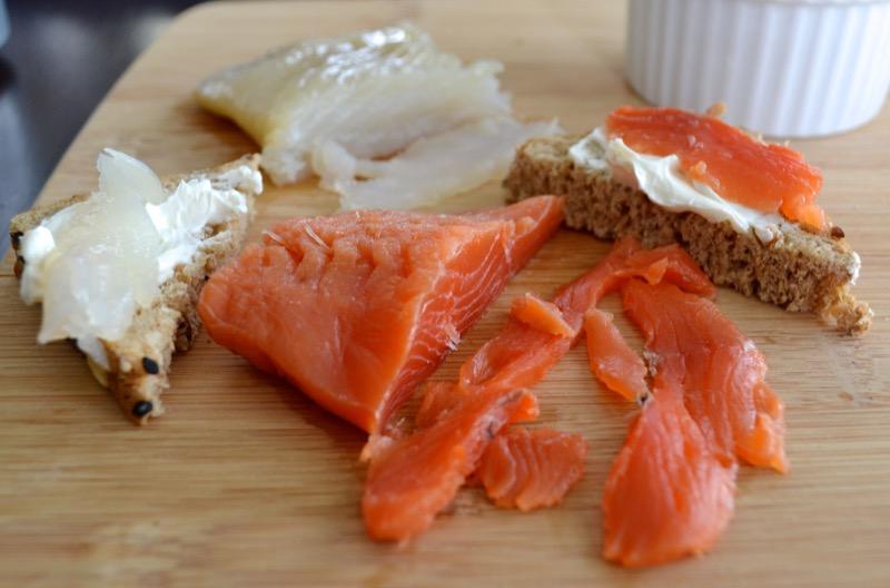20 Salmon Gravlox