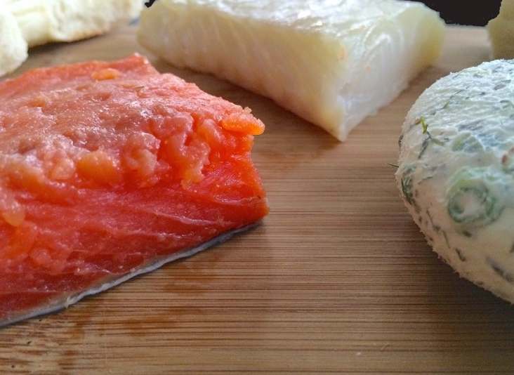 24 Salmon Halibut Gravlox