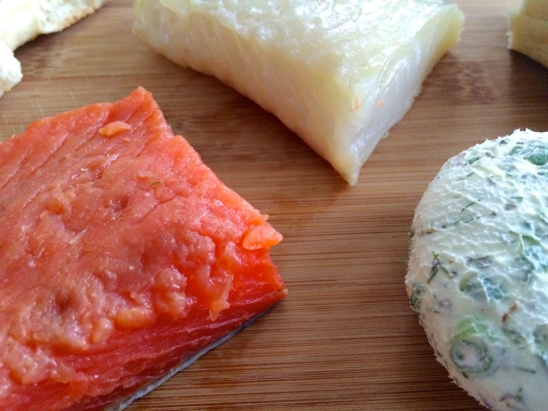 25 Salmon Halibut Gravlox