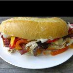 Vanja's Signature Sandwich: Chicken, Bacon and Garlic Mayo