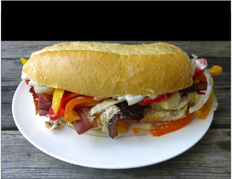 1 Vanja's Signature Sandwich