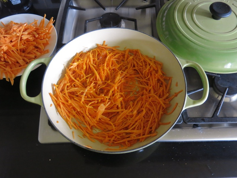 19 Fried Sweet Potato Strings