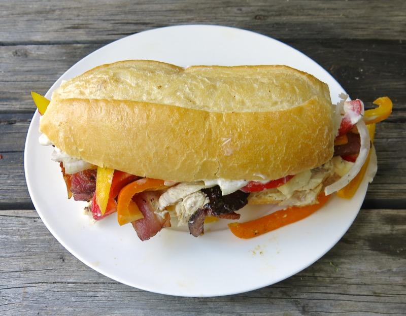 2 Vanja's Signature Sandwich