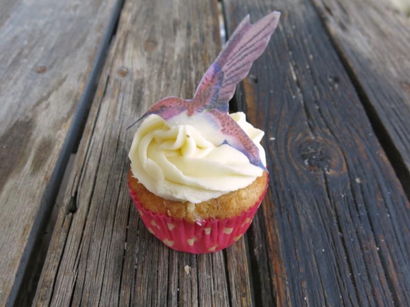 3 Hummingbird Cupcake
