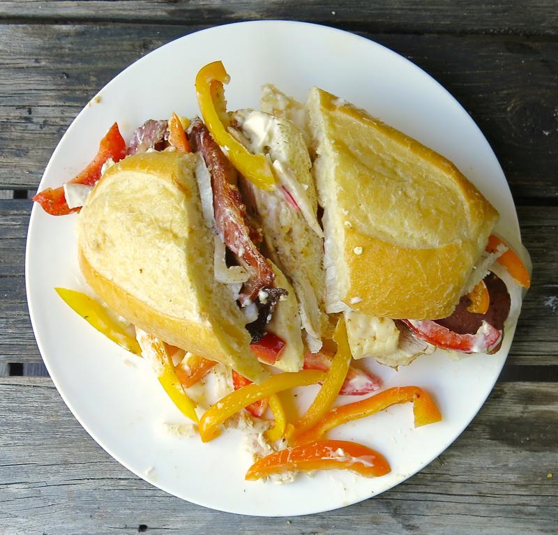 3 Vanja's Signature Sandwich