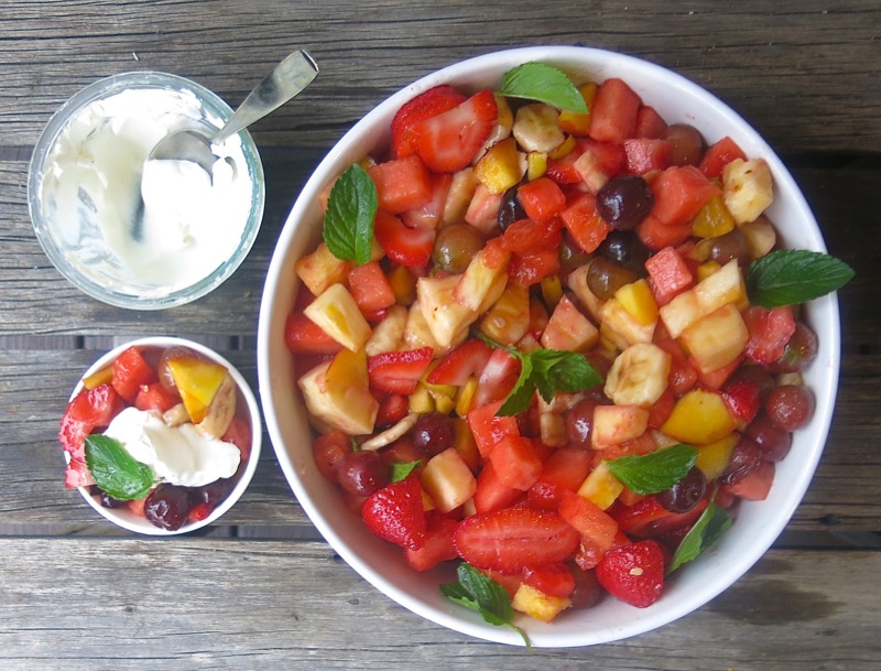 6 Canadian Prairie Fruit Salad
