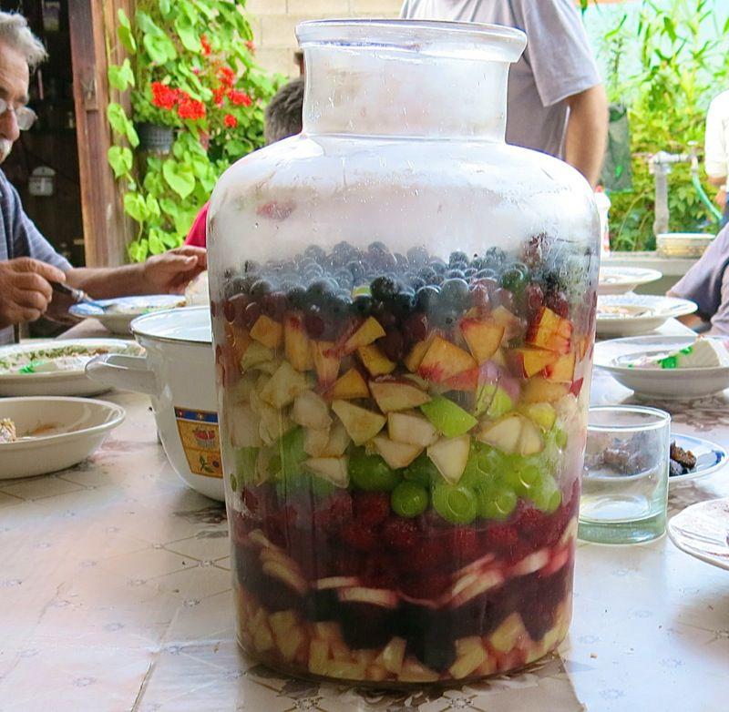 9 Layered Fresh Fruit Salad