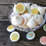 Meringue Kisses SugarArt Sugar Stamps for Amy and Heidi