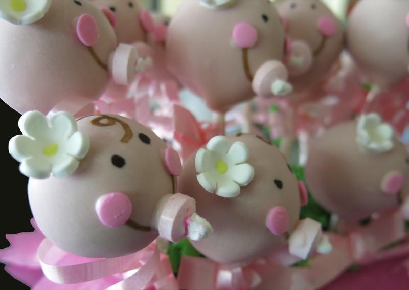 3 Babyface Cake Pops