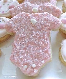 1 Baby Onesie Butter Cookies