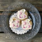 Baby Shower Babyface Sandwich Cookies for Heidi Marie