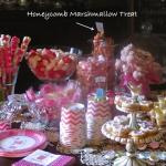 Honeycomb Marshmallow Treat for Amy and Heidi Marie