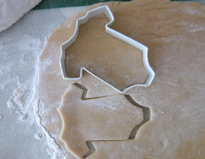 11a Baby Onesie Butter Cookies
