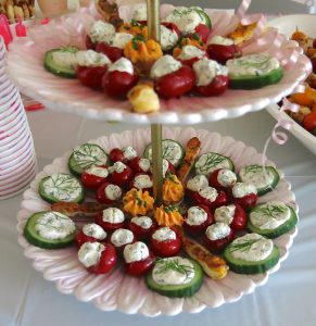 13 Girl Baby Shower Savory Buffet